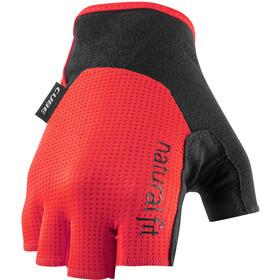 Cube X NF Short Finger Gloves, rojo/negro